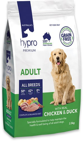 Hypro Premium Dog Food -  ADULT WITH REAL CHICKEN & DUCK