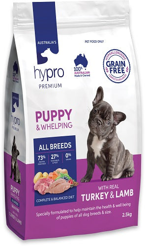 Hypro Premium Dog Food -  PUPPY WITH REAL TURKEY & LAMB