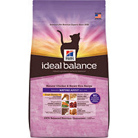 Ideal Balance Cat - Feline Mature Natural Chicken & Rice