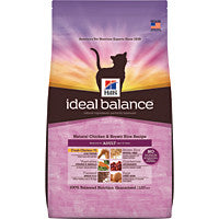 Ideal Balance Cat - Feline Adult Natural Chicken & Rice