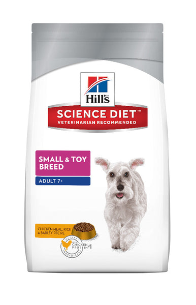 Science Diet Dog - Small & Toy Breed, Mature 7 + years