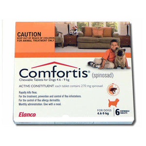 Comfortis Dog - Comfortis Small Dog (Orange) 4.6-9Kg