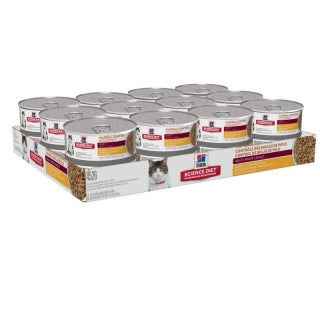 Science Diet Cat - Adult Hairball Control Cans