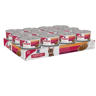 Science Diet Cat - Light Liver & Chicken Cans, Adult