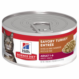 Science Diet  Cat - Turkey Entree Cans