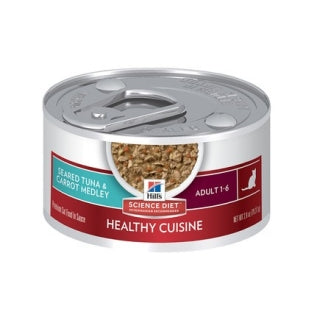 Science Diet Cat - Adult Tender Chicken Dinner Cans