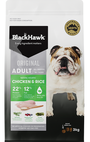BlackHawk Dog - Adult Chicken & Rice