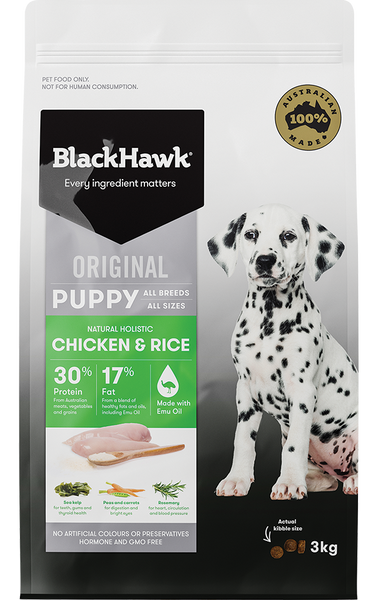 BlackHawk Dog - Puppy Chicken & Rice