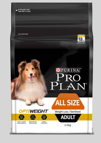 Proplan Dog - Weight loss/Sterilised with OPTIWEIGHT