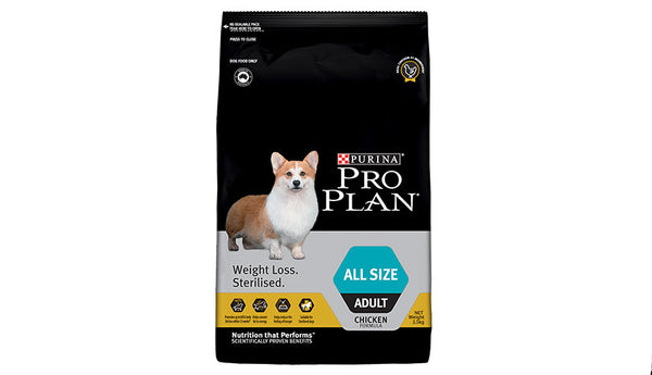 Proplan Dog - Weight loss/Sterilised All Breeds