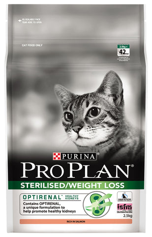 Pro Plan Cat - Adult Sterilised/Weight Loss with OPTIRENAL