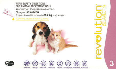 Revolution  - Revolution Puppy & Kitten Up to 2.5Kg (Pink)