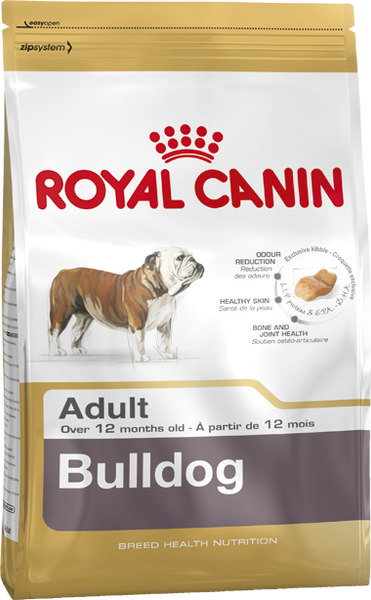 Royal Canin Dog - Royal Canin BULLDOG ADULT , 12 months +