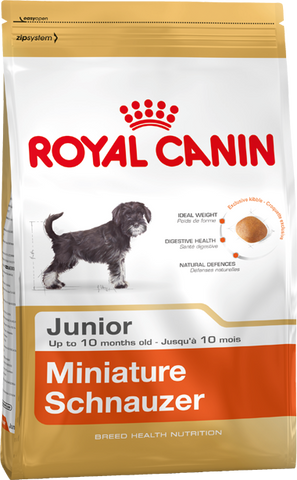 Royal Canin Dog - Royal Canin MINIATURE SCHNAUZER PUPPY, 0-10 months