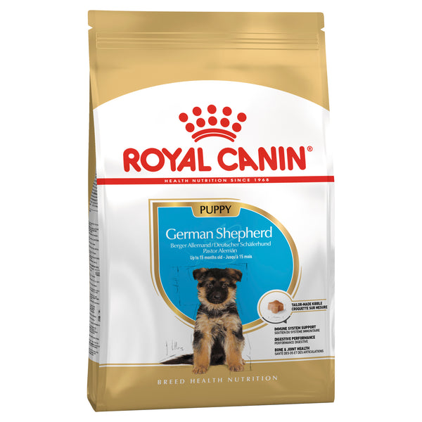 Royal Canin Dog - Royal Canin GERMAN SHEPHERD PUPPY, 0-15 months