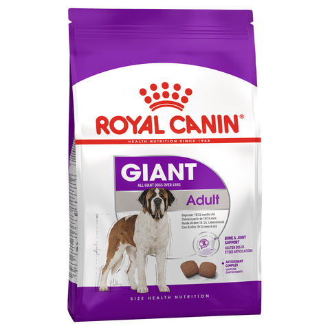 Royal Canin Dog - Royal Canin GIANT ADULT Dogs (45kg+)
