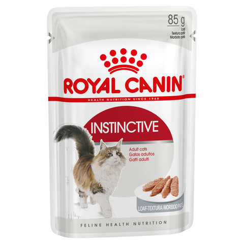 Royal Canin Cat -  Royal Canin INSTINCTIVE ADULT LOAF (pouches)