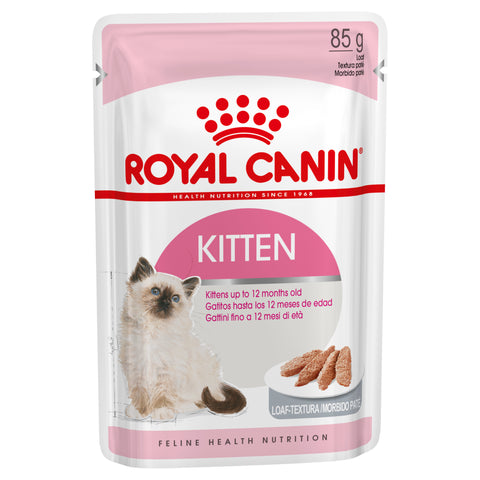 Royal Canin Cat - Royal Canin KITTEN Loaf POUCHES in gravy, 4-12 months