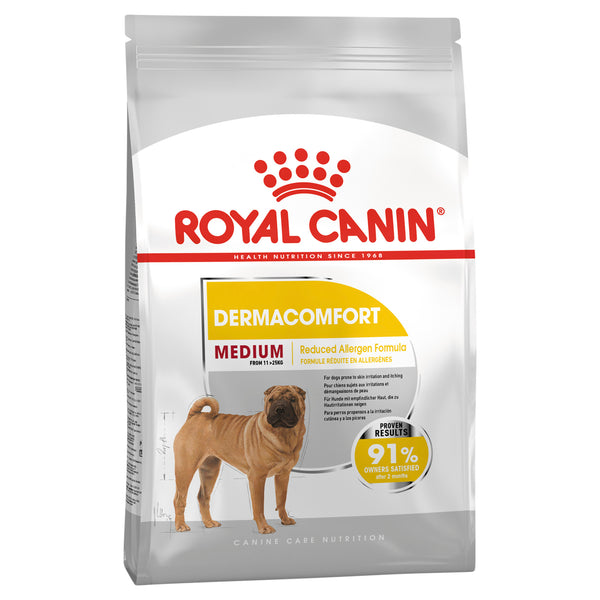 Royal Canin Dog - Royal Canin MEDIUM DERMOCOMFORT