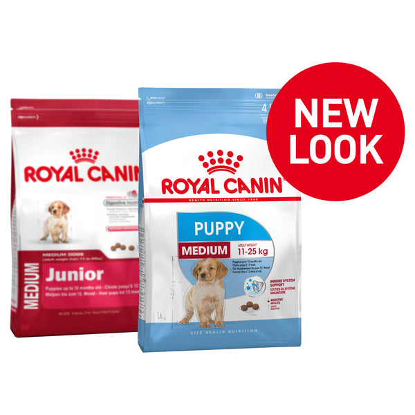 Royal Canin Dog - Royal Canin MEDIUM PUPPY, 0-12 months