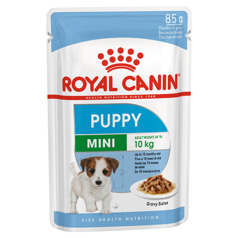 Royal Canin Dog - Royal Canin MINI PUPPY GRAVY POUCHES - Wet food