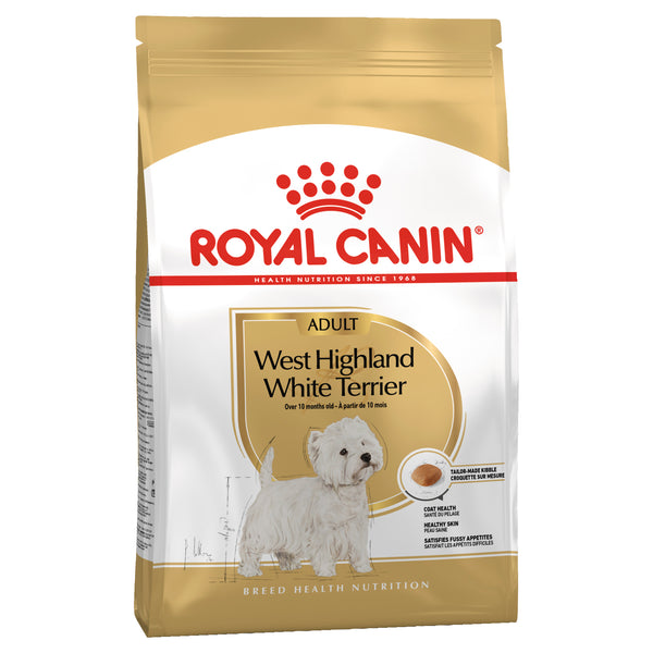 Royal Canin Dog - Royal Canin WEST HIGHLAND WHITE TERRIER, 10 months +