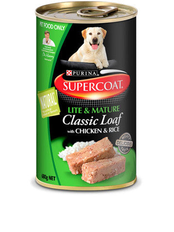 Supercoat Dog - Loaf Lite & Mature Cans