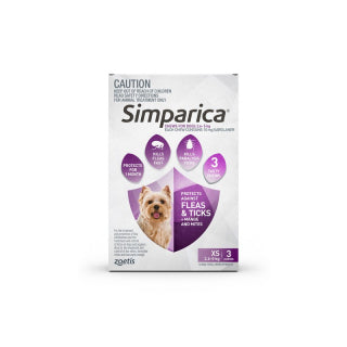 Simparica Dog - Simparica Extra Small Dog 2.6-5.1kg