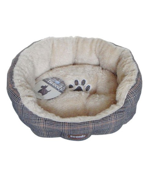 Tweedyª Luxury Donut Bed 70cm x 70cm x 15cm