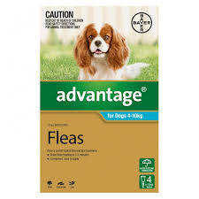 Advantage Dog - Advantage Medium Dog (Blue) 4-10Kg