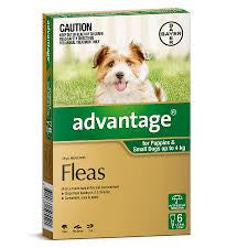 Advantage Dog - Advantage Small Dog (Green) 0-4Kg