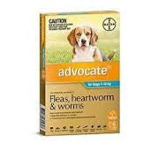 Advocate Dog - Advocate Medium Dog (Blue) 4-10Kg
