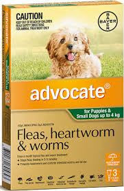 Advocate Dog - Advocate Small Dog & Puppies (Green) 0-4Kg