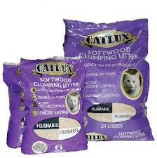 Cat Litter -  Catlux Light Clumping Cat Litter