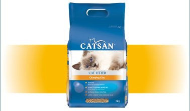 Cat Litter - Catsan Ultra Clumping Litter