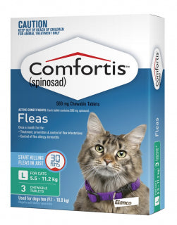 Comfortis Cat - Large cat 5.5-11.2kg GREEN
