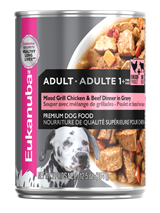 Eukanuba - Adult Mixed Grill Chicken & Beef Dinner in Gravy