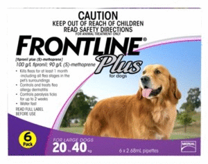 Frontline Plus Dog - Frontline Plus Large Dog (Purple) 20-40Kg