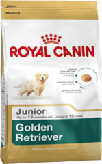 Royal Canin Dog - Royal Canin GOLDEN RETRIEVER JUNIOR, 0-15 months