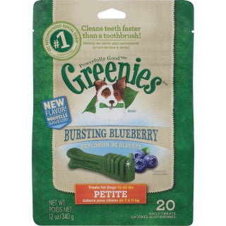 Greenies Blueberry Pack Petite