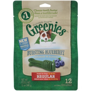 Greenies Blueberry Pack Regular