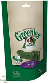 Greenies Treat Pack Large - Large Breeds