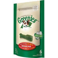 Greenies Treat Pack Regular - Medium Breeds