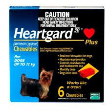 Heartgard Plus - Heartgard Plus Small Dogs (Blue) 0-11kg
