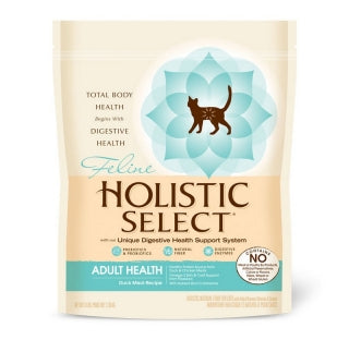 Holistic Select Cat - Adult Health Duck Meal & Oatmeal Recipe