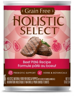 Holistic Select Dog - GRAIN FREE Beef Pate Recipe