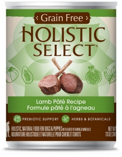 Holistic Select Dog - GRAIN FREE Lamb Pate Recipe