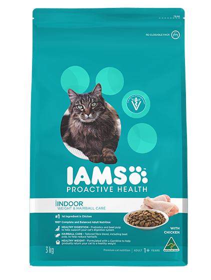 IAMS Cat - Iams® ProActive Health™ Indoor Weight & Hairball Care