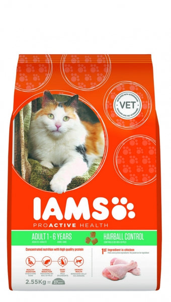 IAMS Cat -  Iams® ProActive Health™ Adult Hairball Control