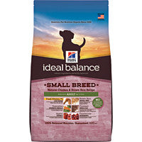 Ideal Balance Dog - Adult Small Breed Natural Chicken and Rice